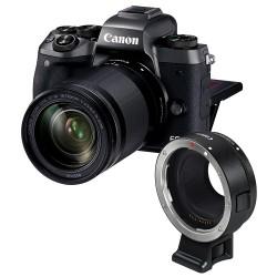 Canon EOS M5 + EF-M 18-150mm f/3.5-6.3 IS STM + Mount Adapter EF-EOS M - Granzia ufficiale Canon Italia