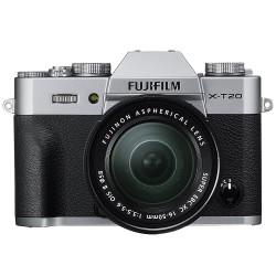 Fujifilm X-T20 silver + XC 16-50mm f/3.5-5.6 OIS II - Garanzia ufficiale Italia