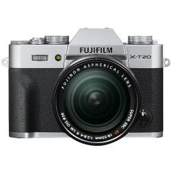 Fujifilm X-T20 silver + XF 18-55mm f/2.8-4 R LM OIS - Garanzia ufficiale Italia