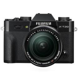 Fujifilm X-T20 black + XF 18-55mm f/2.8-4 R LM OIS - Garanzia ufficiale Italia