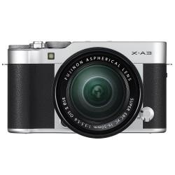Fujifilm X-A3 silver + XC 16-50mm f/3.5-5.6 OIS II - Garanzia ufficiale Italia