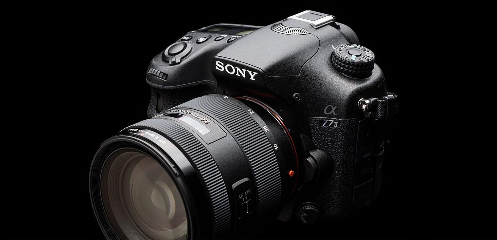 Sony Alpha A77 Mark II